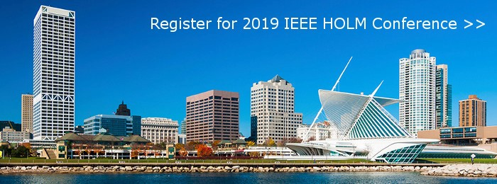 NAECO Sponsors the 2019 IEEE Holm Conference on Electrical Contacts